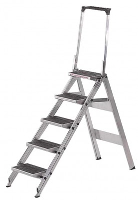 Little Jumbo KlappTreppe - 5 Stufen mit Sicherheitsbügel
