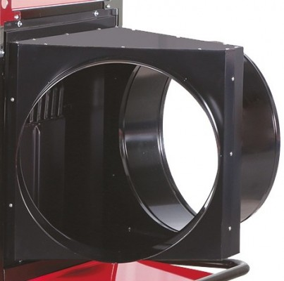 Luftleitblech mit 2 Abgängen-Ø 500mm für Jumbo 145