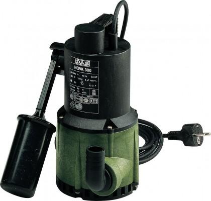 DAB Nova 300 M-A - SV Schmutzwasser Tauchmotorpumpe mit Schwimmschalter - 13020l/h - 230V