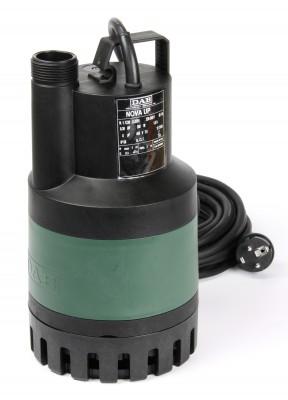 DAB Nova Up 600 M-NA Schmutzwasser Tauchpumpe ohne Schwimmerschalter - 13500 l/h - 230 V