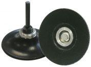 Stützteller zur Befestigung von Quick Change Discs - QMC 555 - Ø 25x6 mm soft - VE= 1 Stück
