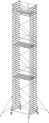 FahrGerüst Serie 500 - Arbeitshöhe bis 14.40  / Feldlänge 2.50 m