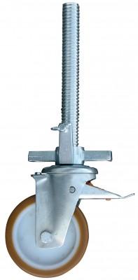 Fahrrolle gummiert - 300-570 mm
