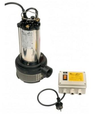 BBC Semisom 130 H M Schmutzwasserpumpe ohne Schwimmschalter mit Starter - 6000 l/h - 230 V