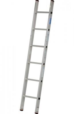 Monto® Sibilo® Sprossen-Anlegeleiter - Alu 1-teilig - 1.90 m Leiternlänge - 6 Sprossen