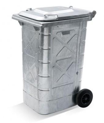 240 Liter Sicherheitsbehälter für Spezialabfälle - Stahl verzinkt