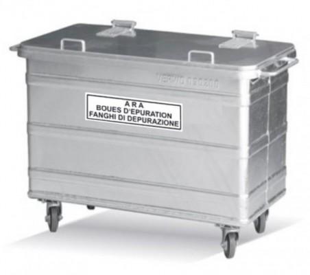 400 Liter Stahlcontainer ARA