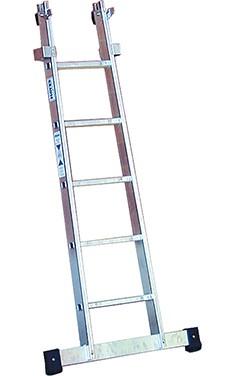 Stabilo® Professional Glasreinigerleiter, Unterteil - Länge 1.70 m - 5 Sprossen