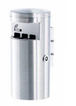 HELVETIAbin Wandascher 2 Liter - Stahl rostfrei