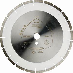 Klingspor DT 900 U Special Diamantgrosstrennscheibe für Motortrennschleifer & Tischsägen - 600 x 25.4 mm, weit verzahnt