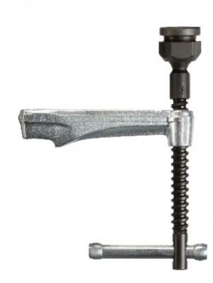 BESSEY Gleitbügel mit Knebelgriff inkl. Hochleistungsdruckplatte komplett für Baugrösse SLV 120x27x13 mm