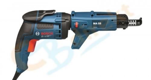 Bosch GSR 6-45 TE Tiefenanschlagschrauber Professional + MA 55 L-Boxx