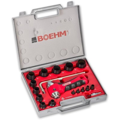 BOEHM JLB330PACC Locheisensatz Ø 3-30 mm + JLB-M30PA + JLB-P42R + TC-330PA + LAM-1 im Kunststoffkoffer