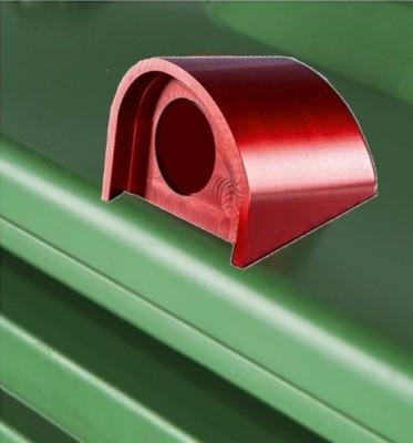 Automatik-Kippschloss für Kunststoffbehälter KABA/KESO/SEA-Zylinder - montiert