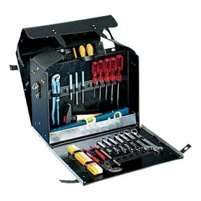 B&W mars 201.01 Werkzeugtasche - schwarz (leer)