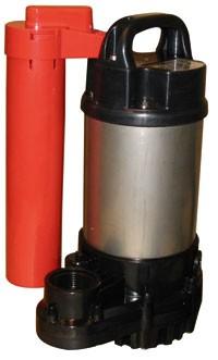 Tsurumi Oma Schmutzwasserpumpe mit Schwimmschalter - 230V - 11400 l/h
