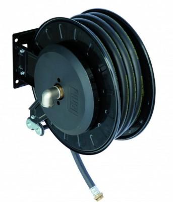 Schlauchaufroller mit Dieselschlauch 8 m x Ø 19 mm