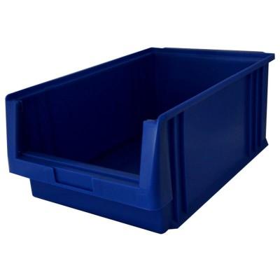 EcoSystem LK 2 Sichtlagerkasten blau für Boxenregal
