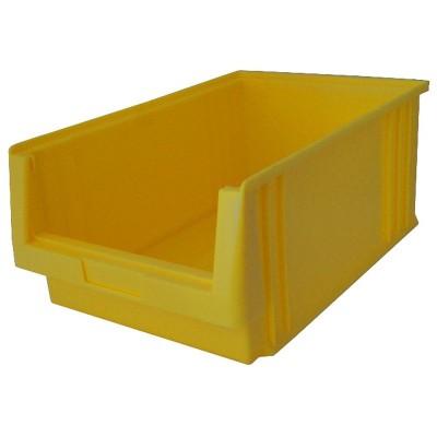 EcoSystem LK 3 Sichtlagerkasten gelb für Boxenregal