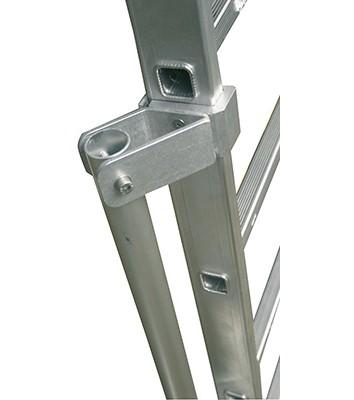Stabilisationsstützen, 1 Paar für Anlege- und Schiebeleitern 12-18 Stufen/Sprossen