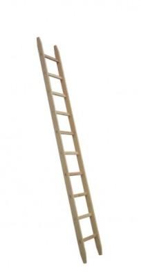 Holz-Anlegeleiter Typ 480 - 9 Sprossen - Länge 3.00 m