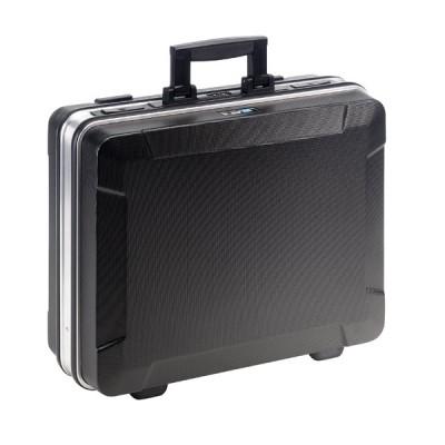B&W base 120.02/POCKETS - ABS-Werkzeugkoffer - schwarz  (leer)