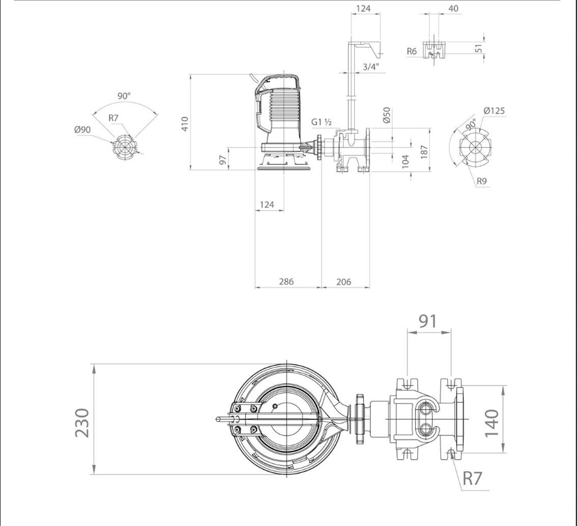 zenit gr blue pro 150 m f kalienpumpe 21100 l h 230 v. Black Bedroom Furniture Sets. Home Design Ideas