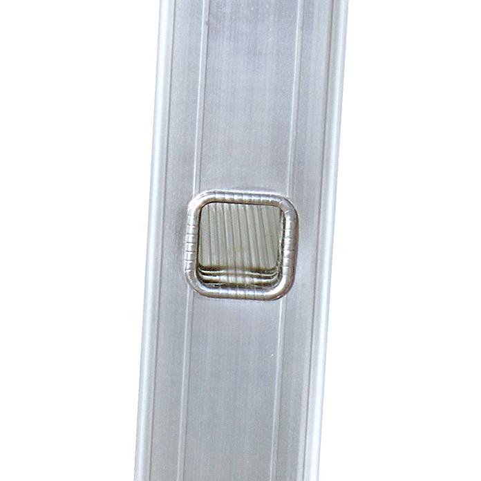 stabilo professional sprossen anlegeleiter alu 1 teilig 12 sprossen. Black Bedroom Furniture Sets. Home Design Ideas
