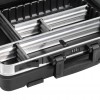 B&W go 120.04/POCKETS Mobiler ABS-Werkzeugkoffer - schwarz  (leer)