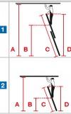 Sprossen-Gelenk-Doppelleiter - 2x6 Sprossen Trimatic® Monto®