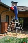 Stabilisationsstützen, 1 Paar für Anlege- und Schiebeleitern 6-11 Stufen/Sprossen