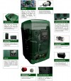 DAB E.sybox mini³ Hauswasserautomat 4800 l/h - Fh 55.0 m - 5.5 bar - 0.85 kW - 230 V - Trinkwasser geeignet
