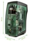 DAB E.sybox Hauswasserautomat 7200l/h - Fh 65.0 m - 6.5 bar - 1.55 kW - 230 V - Trinkwasser geeignet